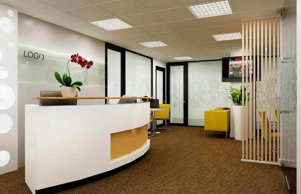 Khu vực tiếp khách của văn phòng ảo i-office