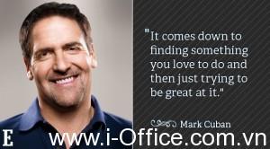 Bí quyết kinh doanh thành công của Tỷ phú Mark Cuban