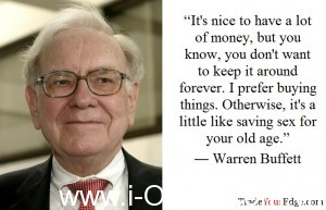 Bí quyết đầu tư tài chính của tỷ phú Warren Buffett